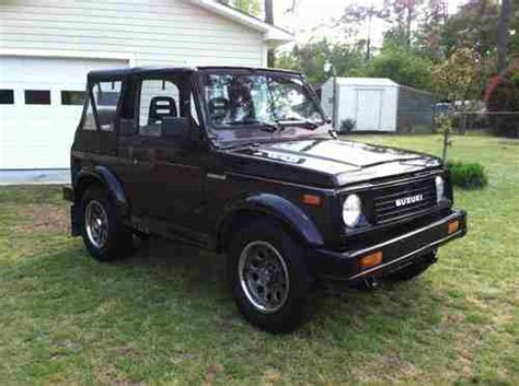 sell used 1990 suzuki samurai jl sport utility 2 door 1 3l in whiteville north carolina united