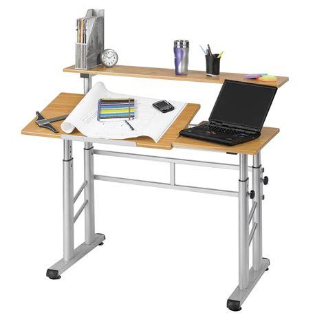 safco adjustable split level drafting table drafting