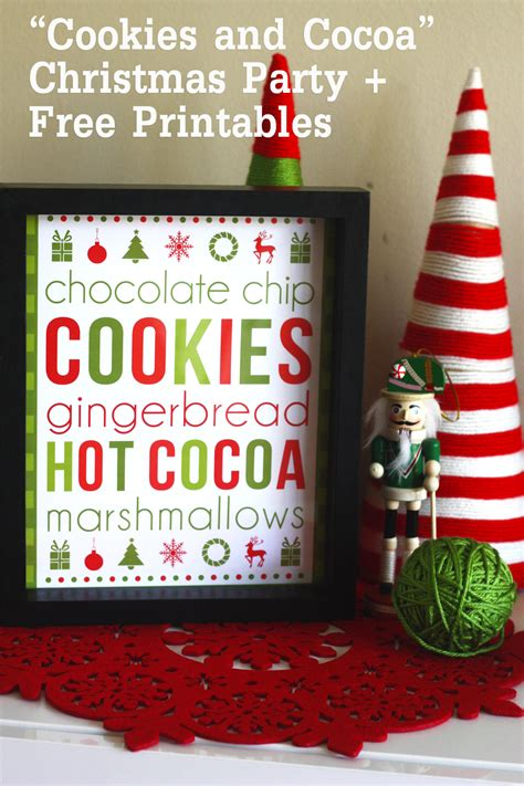 free printable holiday worksheets free christmas cookies free cookies cocoa christmas printables catch my party