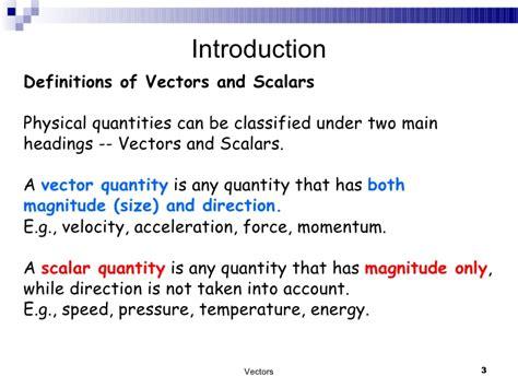 exle of vector vectors