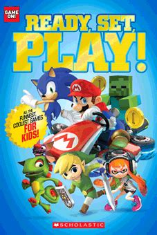 game  ready set play  scholastic paperback book  parent store
