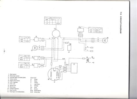 wire diagram 1987 yamaha enticer wiring diagrams