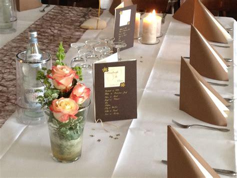 Tischdekoration Goldene Hochzeit tischdeko goldene hochzeit gastst 228 tte altenrath