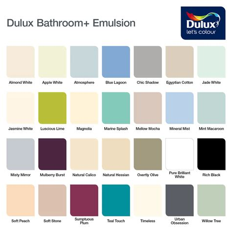 dulux bathroom paint price dulux paint colours for bathrooms 28 images 7 ways to