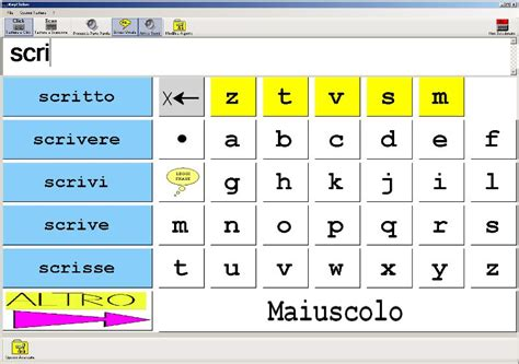 programma per scrivere lettere tastiera virtuale disabili per italiano greco matematica