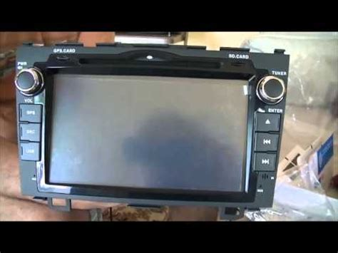 security system 2007 honda cr v navigation system installing dashboard gps and dvd system on 2007 honda cr v youtube