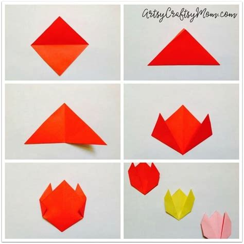 Basic Paper Folding - simple paper folding for world of exle