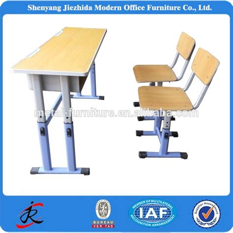 cheap study desk and chair cheap plastic pvc school classroom height adjustable desks