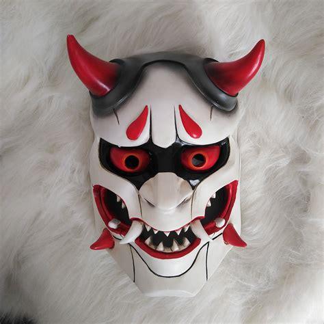 Masker Peel Cool Cottage 2017high quality genji skin oni mask fancy mask prop collection in