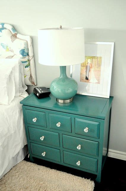 painting wicker bedroom furniture 17 best ideas about teal nightstands on pinterest