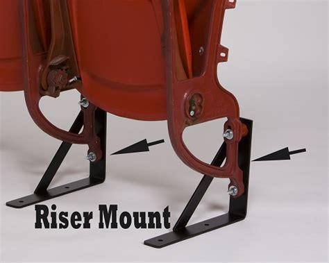stadium seat mounts seat stadium seat leg mounting brackets