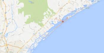 carolina maps to surf city topsail island get