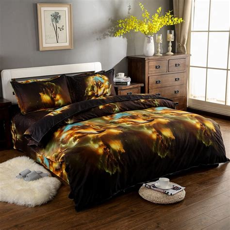 wolf bed set fashion animal 3d wolf bedding sets king queen full size