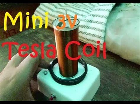 3v Tesla Coil How To Make A Mini 3v Tesla Coil Step By Step