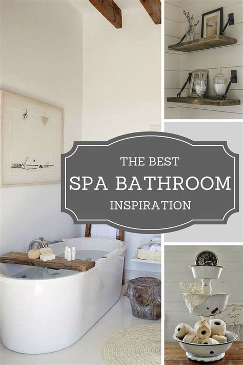 beautiful spa bathroom diy ideas  love  bathtub caddy