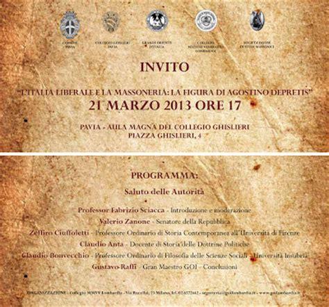 massoneria pavia 21 marzo 2013 convegno quot l italia liberale e la