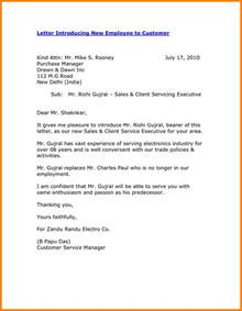 Introduction Letter As New Account Manager 8 Self Introduction Email Sle For New Employee