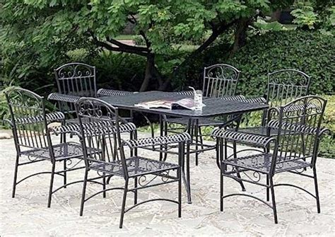 cleaning patio furniture how to clean rod iron patio furniture