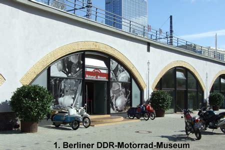 Motorrad Ecke Rheine öffnungszeiten by Ddr Motorrad Museum Berlin