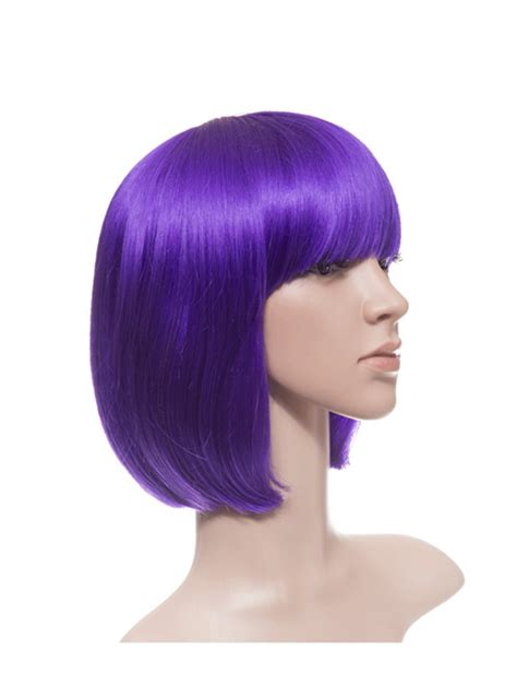 Slaps On A Wig And Heads Back Out To by Colour Bob Wig 18 Colours Are Available