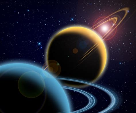 ruling planet saturn saturn uranus outer space planets