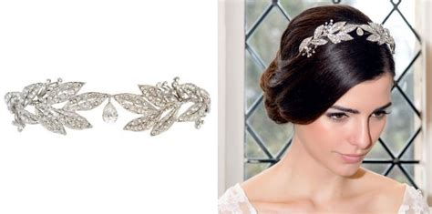 Crown Elizabeth Tiara Wedding Hair Import bridal crowns tiaras chic vintage brides