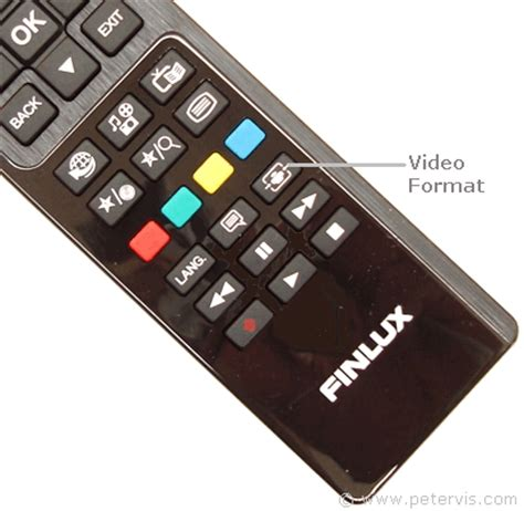 normal video format dvd player finlux tv remote control