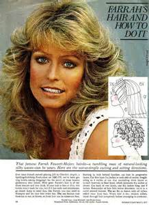 farrah haircut and diagram farrah fawcett hairstyles instructions