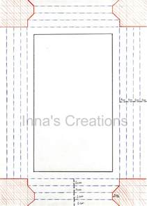 How To Make A Paper Picture Frame - inna s creations how to make a simple paper frame