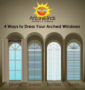 Blinds For Arched Top Windows - 4 ways to dress up your arched windows