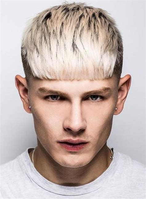 bangs hairstyles male how to get the luke worrall blunt bangs hairstyle cool