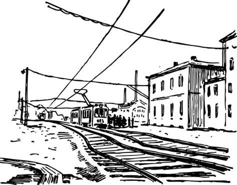 electric train coloring page electric train railroad coloring page color luna