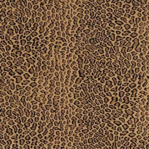 E418 Cheetah Animal Print Microfiber Fabric Contemporary