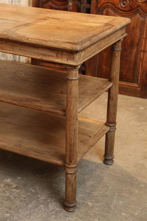 19th century three tiered serving table or kitchen island