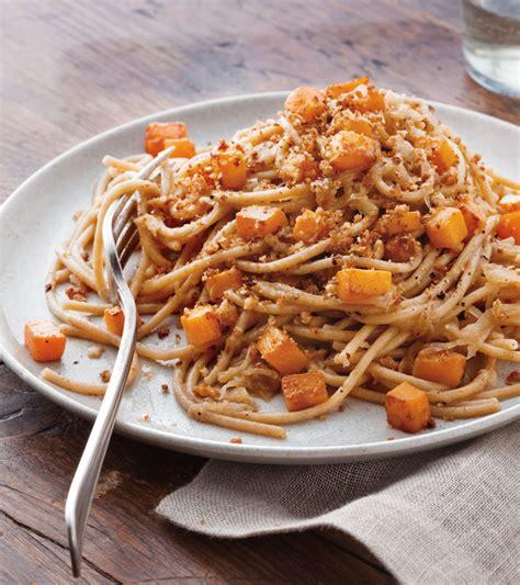 wheat spaghetti  roasted squash williams