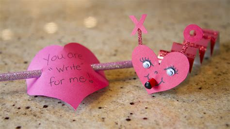 Handmade Valentines - s cards for school modernmom