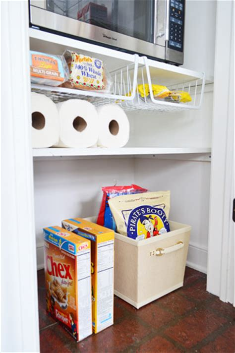 Pantry Floor Organizer Adding Tons Of Pantry Storage Function House
