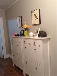 shoe closet ikea hemnes shoe cabinet hack search emily