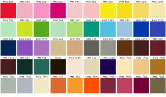 Color Swatches by Dyenet Pantone Pallets