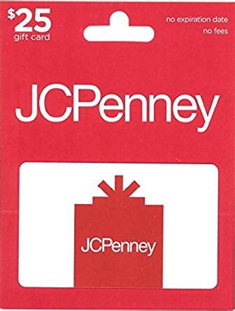 Jcp Gift Card Balance - amazon com jcpenney gift card 25 gift cards