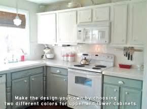 painting kitchen cabinets two different colors painting kitchen cabinets two different colors my web value