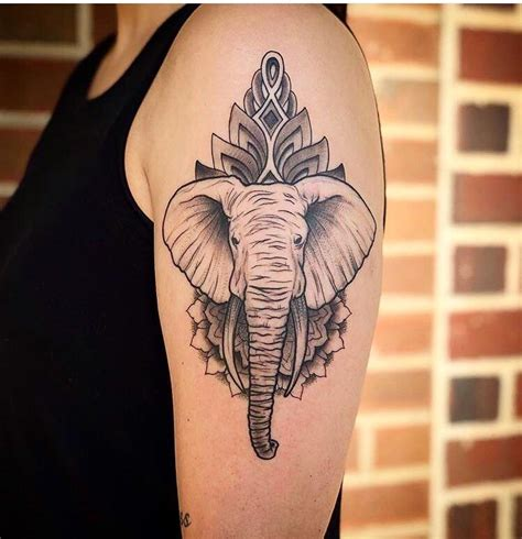 bone daddy tattoo my new elephant by cunliffe bone s