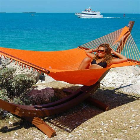 Hammock 2p Orange 1 caribbean hammocks jumbo orange by the caribbean hammocks store of usa