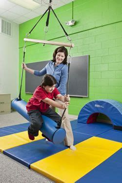 net swing for occupational therapy bolster swing sensory processing disorder pinterest