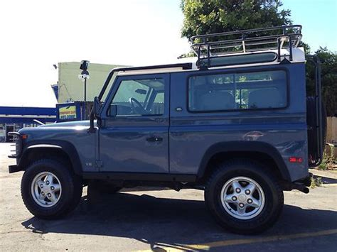 manual cars for sale 1995 land rover defender parental controls purchase used 1995 land rover defender 90 sw in san jose california united states for us