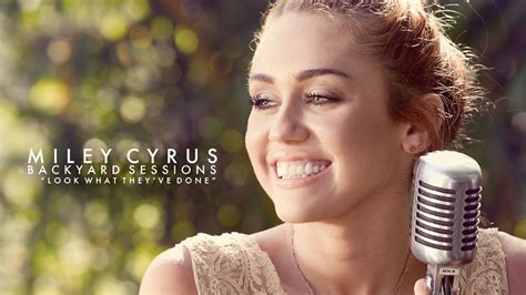 Miley Cyrus Backyard Sessions the backyard sessions dear miley audiomob reviews