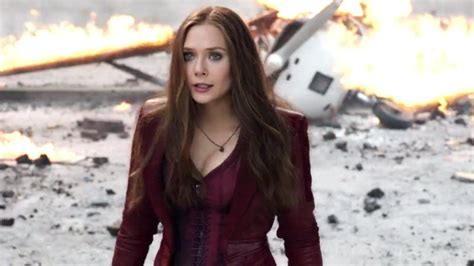 scarlet witch captain america civil war elizabeth olsen open to solo scarlet witch film heroic