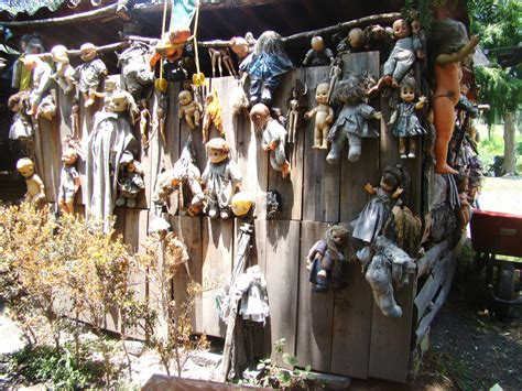 haunted doll lake creepy island of dolls on teshuilo lake in mexico