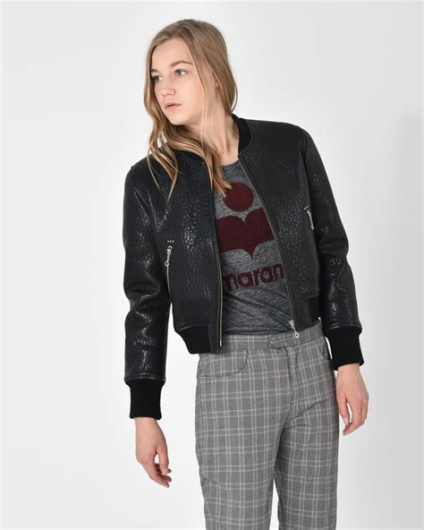Isabelgo Jaket marant leather jacket cairoamani
