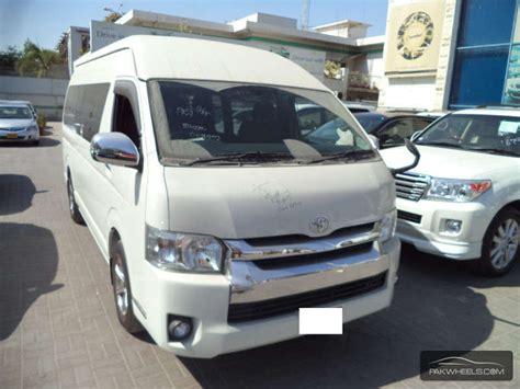 toyota hiace 2014 used toyota hiace grand cabin 2014 car for sale in karachi